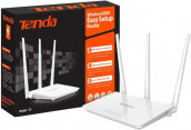 Tenda F3 WiFi Router 300 Mbps Easy Setup High Wireless Range