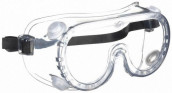Anti-Fog Polycarbonate Clear Lens Safety Goggles