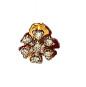 Gold 300ml Diamond Nose pin