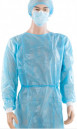 Washable Disposable Polyester Isolation Gown