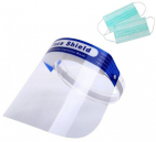 Wrap-Around Protective Face Shield with Free Mask