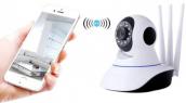 Wireless V380 FHD 360 Degree View IP Camera