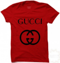 Gucci Casual Red T-Shirt
