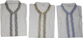 V Collar Cotton Panjabi