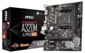MSI A320M-A Pro Max AMD Ryzen AM4 m-ATX Mainboard