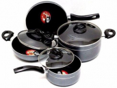 Kiam Non-Stick 7 Pieces Cookware Set