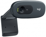 Logitech C270 HD Webcam 3MP 720p Built-in Microphone USB