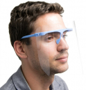 Face Shield Protective with Glasses