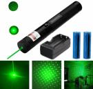 Green Color Laser Light Hard Aluminum Body