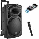Karaoke Rechargeable Bluetooth Trolly Speaker