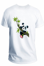 Panda Half Sleeve Cotton T-Shirt