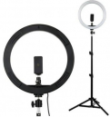 "USB LED Ring Light with 12"" Stand"