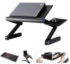Aluminium Laptop Stand with Mouse Tray