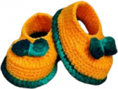 Baby Shoe Orange