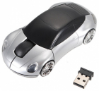 Wireless USB Optical Colorful Car Shape Mouse