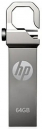 HP 64GB Stainless Steel Pen Drive