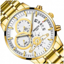 NIBOSI White Dial Wrist Watch