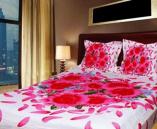 Multi Design Double Size Cotton Bed Sheet