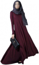 Exclusive Maroon Gown
