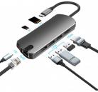 Basix 1907B 7-In-1 USB C Hub