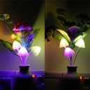 Mushroom Sensor LED Night Light Wall Lamp
