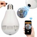 Panoramic X910 Bulb Shape 360 Degree Full HD IP Spy Camera