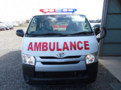 Toyota Hiace Ambulance DX Single AC 2015