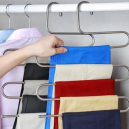 5-Layer S-Shape Cloth Hanger