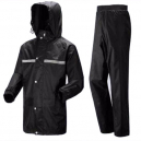 Eva Black Raincoat