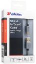 Verbatim 200cm USB-A to Type-C Data Cable