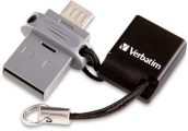Verbatim 32GB Micro-B / USB-A Dual Flash Drive