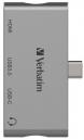 Verbatim USB 3.0 4-in-1 Type-C PD Charging Hub