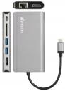 Verbatim 8-in-1 USB 3.0 / Type-C / HDMI Hub