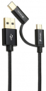 Verbatim Type C / MicroUSB to USB-A Cable