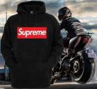 Supreme Men's Trendy Hoodie Black