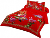 King Size Bed Sheet with Two Pillow Cover PB-557