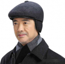 Warm Winter Hat with Ear Flap