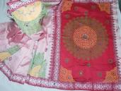 Dhupiyan Soft Red Silk Saree