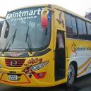 Dhaka to Teknaf Bus Ticket by Saintmartin Paribahan
