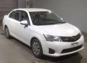 Toyota Axio 2015 White Color