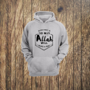 Fashionable Men's Hoodie with Islamic Message