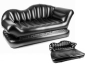 Air Lounge Comfort Inflatable Sofa Cum Bed