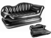 Air Lounge Comfort Inflatable Sofa Cum Bed