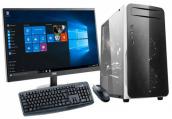 "Desktop PC Core i3 3rd Gen 500GB HDD 17"" LED Monitor"