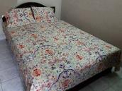 Deshi Cotton King Size Panel Bedsheet