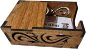 Wooden ID Card Box