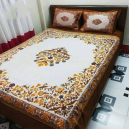 King Size Bed Cover with Two Pillow Cover