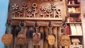 Five Ring Key Holder
