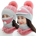 Warm Hand Knitted Hat for Women