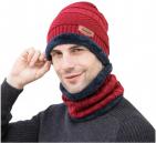 Woolen Fleece Knitted Winter Hat